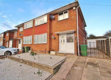 Thumbnail 3 bedroom semi-detached house for sale in Dovedale Road, Thurmaston, Leicestershire
