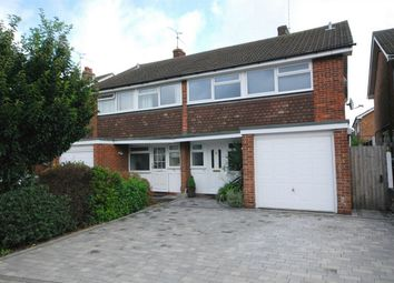 Thumbnail 4 bed semi-detached house for sale in Longmead Avenue, Great Baddow, Essex
