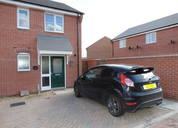 Thumbnail 2 bed terraced house to rent in Hexham Avenue, Bourne, Lincolnshire