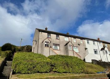 Thumbnail 2 bed end terrace house for sale in Braeside Road, Greenock, Inverclyde