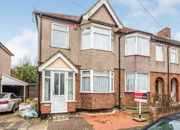 Thumbnail 3 bed end terrace house for sale in Collier Row, Romford, Havering