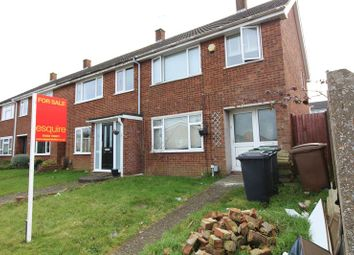 Thumbnail 3 bed end terrace house for sale in Sussex Close, Luton