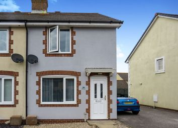 Thumbnail 2 bedroom end terrace house for sale in Drake Avenue, Chickerell, Weymouth