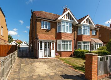 Thumbnail 3 bed semi-detached house for sale in Woodmancote Road, Worthing, West Sussex
