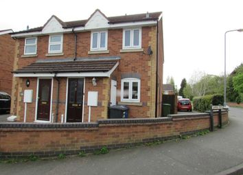 Thumbnail 2 bed terraced house to rent in Kettlebrook Road, Tamworth