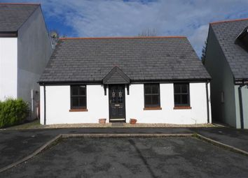 Thumbnail 2 bed detached bungalow for sale in Maes Yr Orsaf, Cilgerran, Cardigan