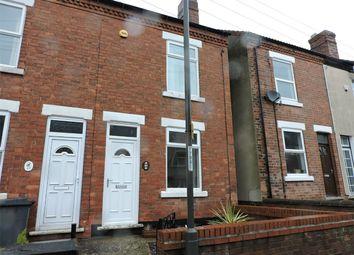 Thumbnail 3 bed end terrace house for sale in Haddon Street, Tibshelf, Alfreton, Derbyshire