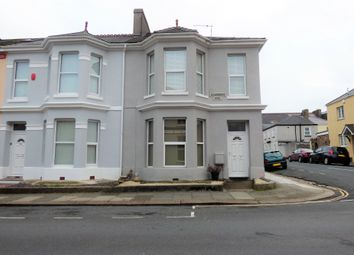 Thumbnail 3 bed end terrace house to rent in Desborough Road, Plymouth