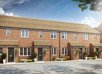 "Thumbnail 2 bed terraced house for sale in ""The Alnwick"" at Rattle Road, Stone Cross, Pevensey"