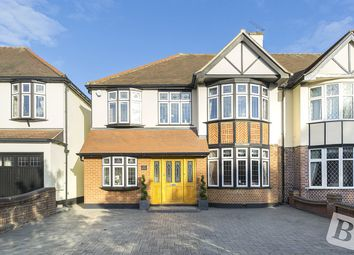 Thumbnail 4 bed semi-detached house for sale in Main Road, Gidea Park, Essex