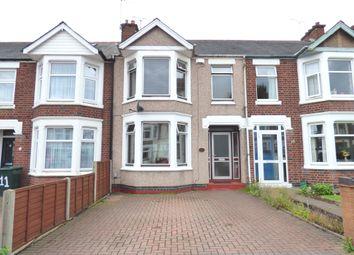 Thumbnail 3 bedroom terraced house for sale in Brackenhurst Road, Coventry