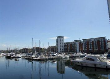 Thumbnail 1 bed flat for sale in Meridian Wharf, Trawler Road, Swansea