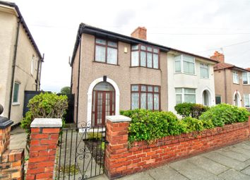 Thumbnail 3 bed semi-detached house for sale in Twyford Avenue, Litherland, Liverpool