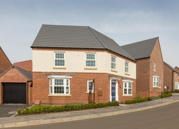 "Thumbnail 4 bed detached house for sale in ""Ashtree"" at Albert Hall Place, Coalville"