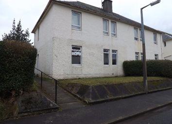 Thumbnail 1 bed flat to rent in John Morton Crescent, Darvel, East Ayrshire