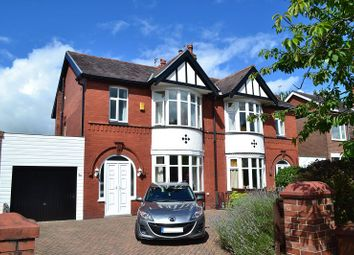 Thumbnail 3 bed semi-detached house for sale in Whitley Crescent, Whitley, Wigan