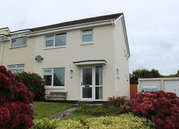 Thumbnail 3 bed semi-detached house for sale in Manor Close, St. Austell
