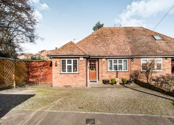 Thumbnail 3 bedroom semi-detached bungalow for sale in Lewes Way, Croxley Green, Rickmansworth