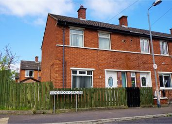 Thumbnail 2 bedroom end terrace house for sale in Sandbrook Gardens, Belfast