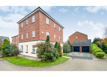 Thumbnail 5 bed detached house for sale in Comberbach Drive, Nantwich