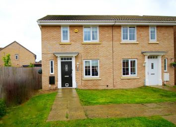 Thumbnail 3 bed semi-detached house for sale in Blackbird Road, Corby