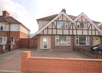Thumbnail 3 bed semi-detached house for sale in Kingsbrook Road, Bedford