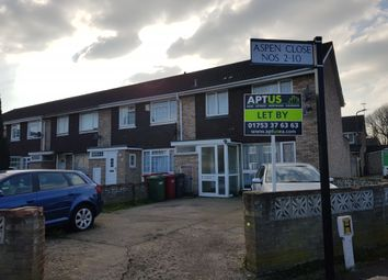 Thumbnail 3 bedroom terraced house to rent in Aspen Close, Slough