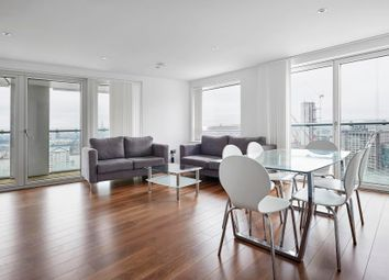 Thumbnail 3 bed flat for sale in Talisman Tower, Canary Wharf