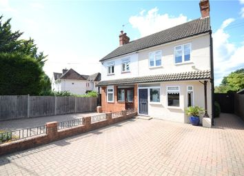 3 bed semi-detached house for sale in Badshot Lea Road, Badshot Lea, Farnham GU9