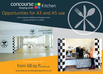 Thumbnail Retail premises to let in Concourse Kitchen Units, Concourse Shopping Centre, Skelmersdale