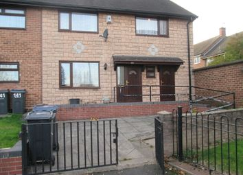 Thumbnail 3 bed end terrace house to rent in Collingbourne Avenue, Hodge Hill, Birmingham
