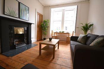 Thumbnail 2 bed flat to rent in Gardners Crescent, Edinburgh
