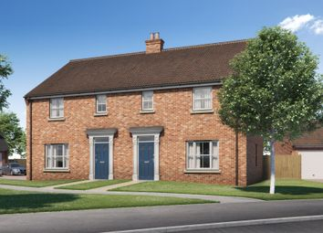 Thumbnail 3 bed semi-detached house for sale in Hospital Road, Little Plumstead, Norwich