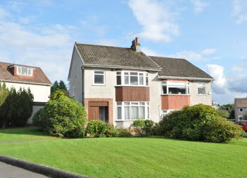 Thumbnail 3 bed semi-detached house for sale in Montrose Drive, Bearsden, East Dunbartonshire