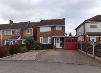 Thumbnail 4 bed detached house for sale in Heathfield Road, Redditch, Worcestershire