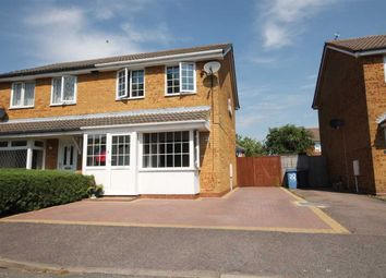 Thumbnail 3 bed semi-detached house for sale in Ganges Road, Shotley Gate, Ipswich