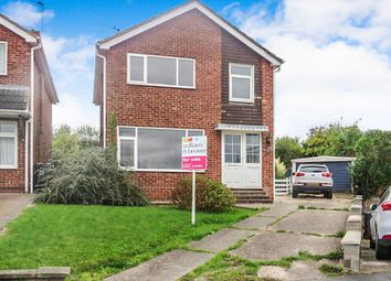 Thumbnail 3 bed detached house for sale in Rosehill, Loughborough