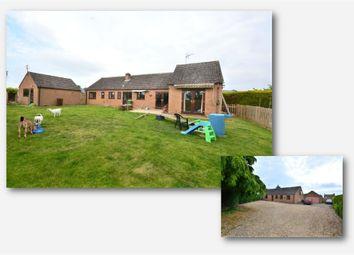 Thumbnail 4 bed detached bungalow for sale in Hawthorn Close, Watlington, King's Lynn