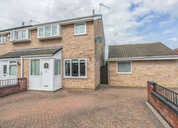 Thumbnail 3 bed semi-detached house for sale in Quorn Drive, Chesterfield