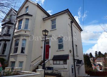 Thumbnail 2 bedroom flat for sale in Caerau Road, Newport, Gwent.