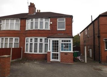 Thumbnail 3 bed semi-detached house for sale in School Grove, Manchester, Greater Manchester, Uk