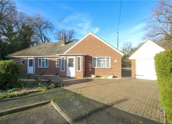 Thumbnail 3 bed bungalow for sale in Connaught Road, Bagshot, Surrey