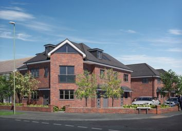Thumbnail 2 bed flat for sale in Milton Road, Cowplain, Waterlooville