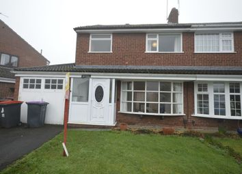 Thumbnail 3 bed semi-detached house to rent in The Beeches, Admaston, Telford