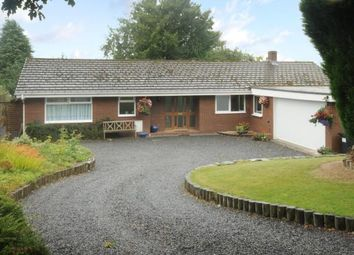 Thumbnail 4 bedroom detached bungalow for sale in Guidfa Meadows, Crossgates, Powys