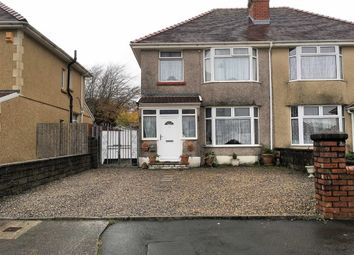 Thumbnail 3 bed semi-detached house for sale in Gendros Crescent, Swansea