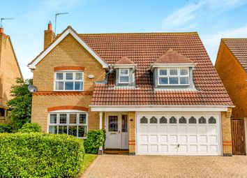 Thumbnail 4 bed detached house for sale in Woodgate Road, Wootton, Northampton