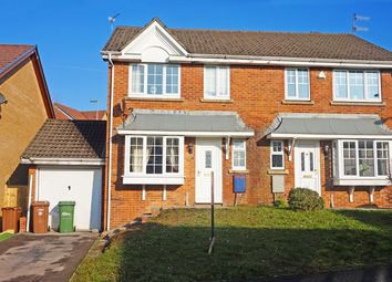 Thumbnail 3 bed semi-detached house for sale in Downey Grove, Penpedairheol