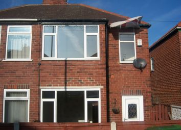 Thumbnail 2 bed semi-detached house to rent in Grange Avenue, South Elmsall, Pontefract