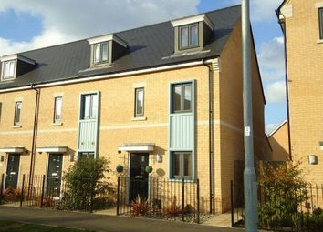 Thumbnail 3 bed end terrace house to rent in Brigade Grove, Colchester, Essex
